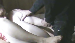 Homemade fledgling orgasm on voyeur