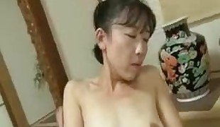 Wonderful Japanese gal showing warm body