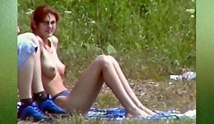 BeachLove - Dixi with pointy tits