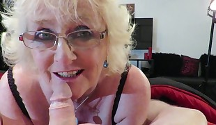Claire Knight Gets a Spunky Load Facial cumshot