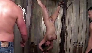 kinky big breasted japanese milf gets tied, penalized and double penetration
