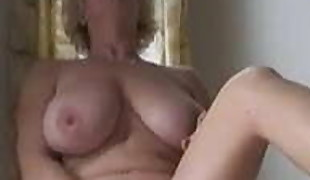 Thick Milf Frolicking With Herself